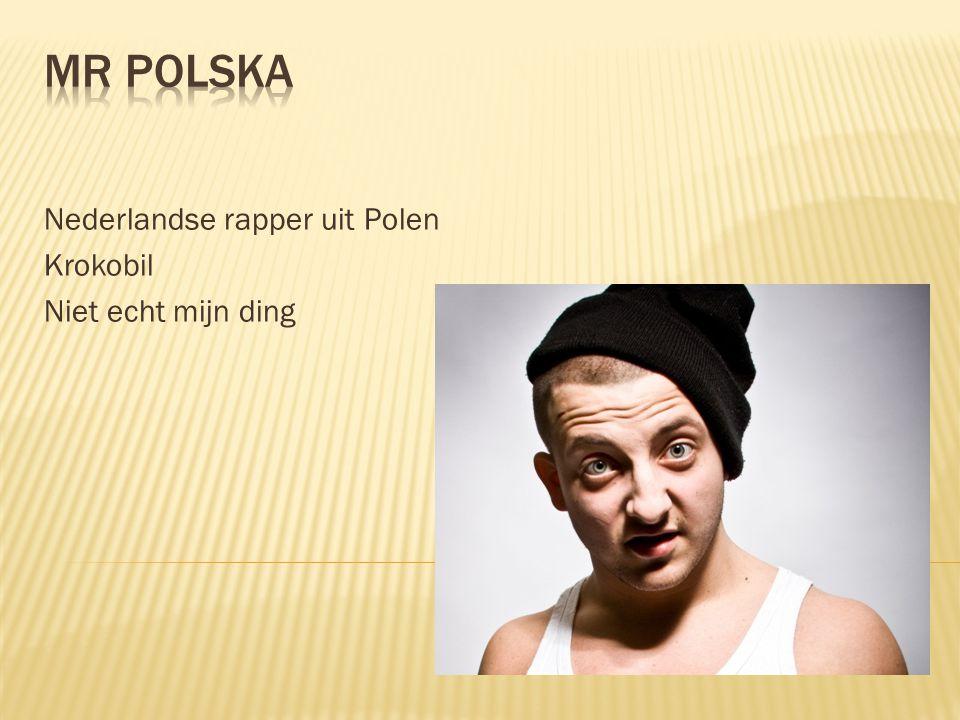 Nederlandse rapper uit Polen Krokobil Niet echt mijn ding