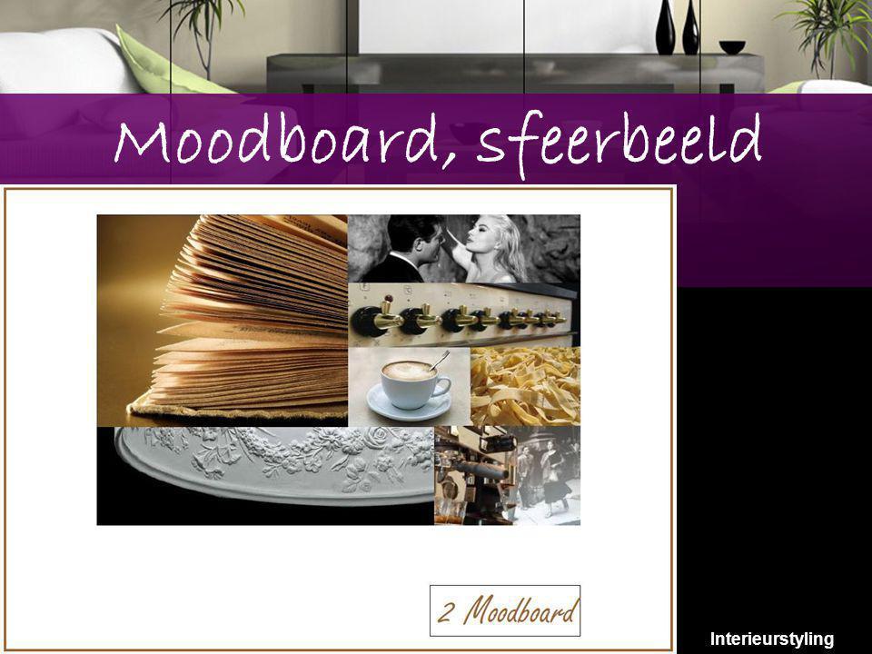 8 Moodboard, sfeerbeeld Interieurstyling