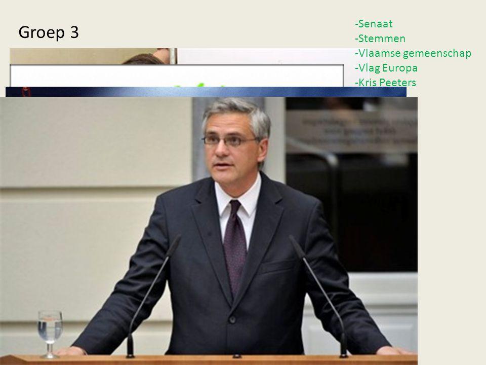 -Senaat -Stemmen -Vlaamse gemeenschap -Vlag Europa -Kris Peeters