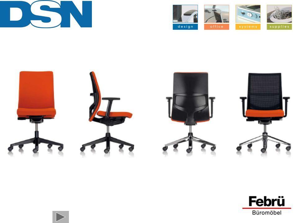 Hier is hij dan, uw nieuwe Systeem X-39 bureaustoel.