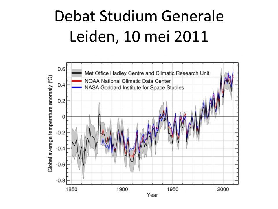 Stelling 3 De klimaatwetenschap heeft door climategate haar onschuld verloren.