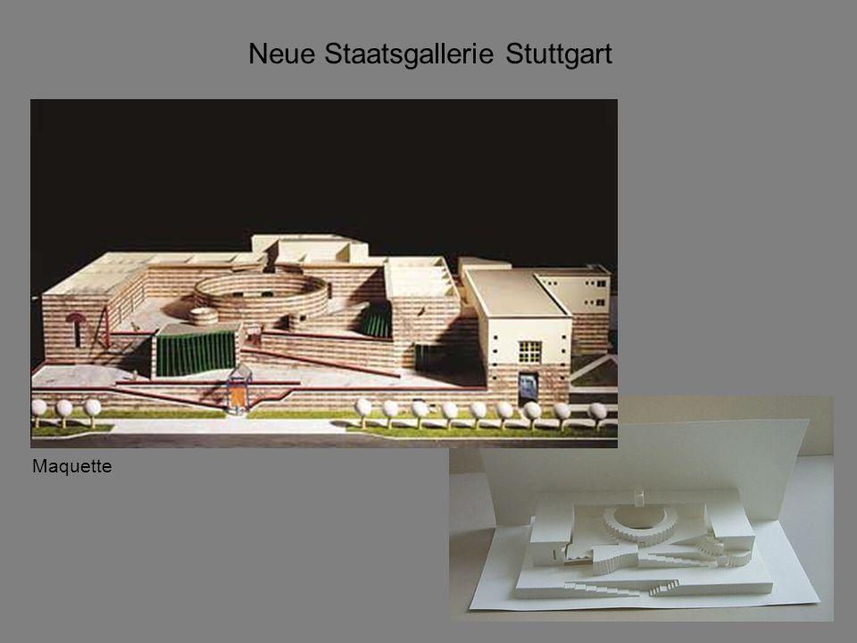 Neue Staatsgallerie Stuttgart Plattegrond niveau 0
