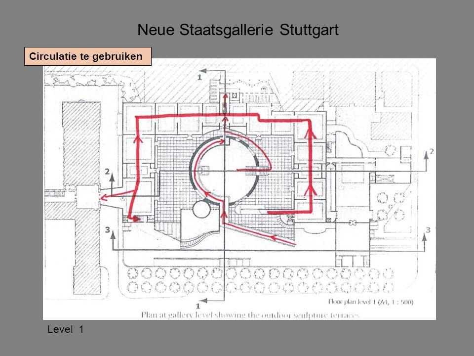 Neue Staatsgallerie Stuttgart Circulatie te gebruiken Level 1