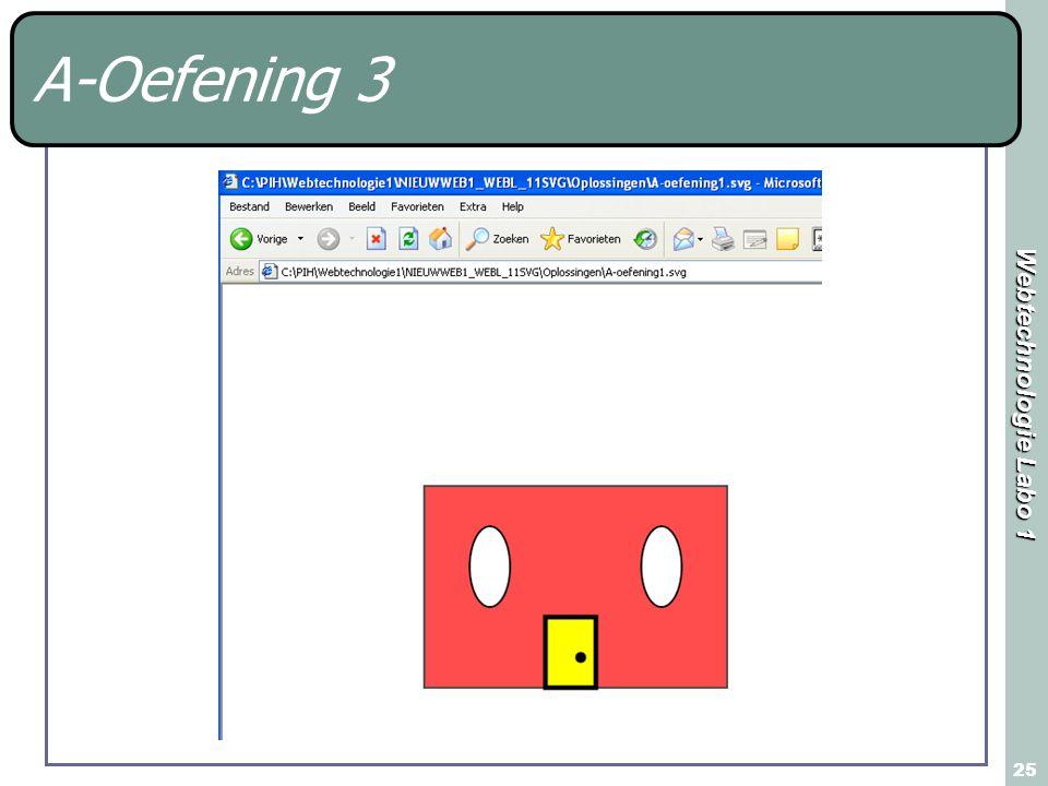 Webtechnologie Labo 1 25 A-Oefening 3