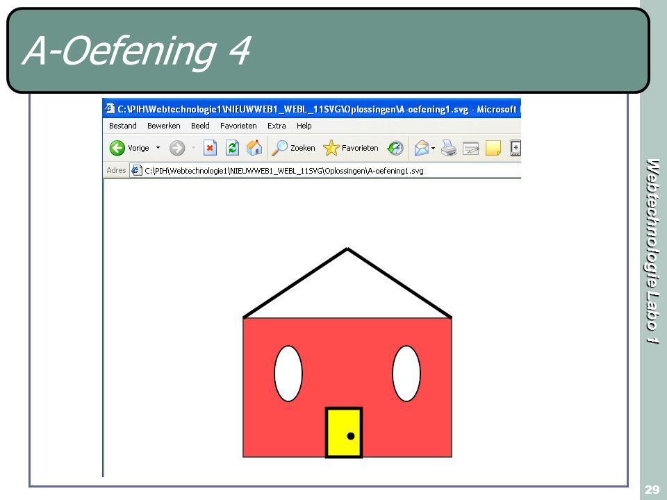 Webtechnologie Labo 1 29 A-Oefening 4