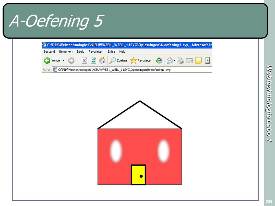 Webtechnologie Labo 1 35 A-Oefening 5