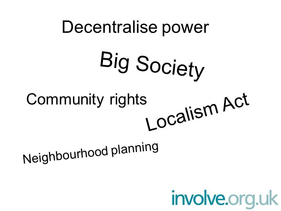 Local Strategic Partnerships (LSPs) Bestaan in bijna elke gemeente in Engeland Brengen publieke sector, maatschappelijk middenveld en private sector samen Bespreken lokale problemen, allocatie van financiering en strategieën Doel: samenwerking en participatie van de gemeenschap bevorderen, 'silo' werken tegen te gaan.