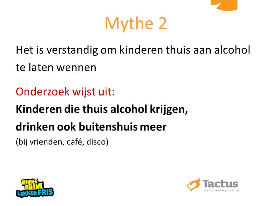 Het is verstandig om kinderen thuis aan alcohol te laten wennen Onderzoek wijst uit: Kinderen die thuis alcohol krijgen, drinken ook buitenshuis meer
