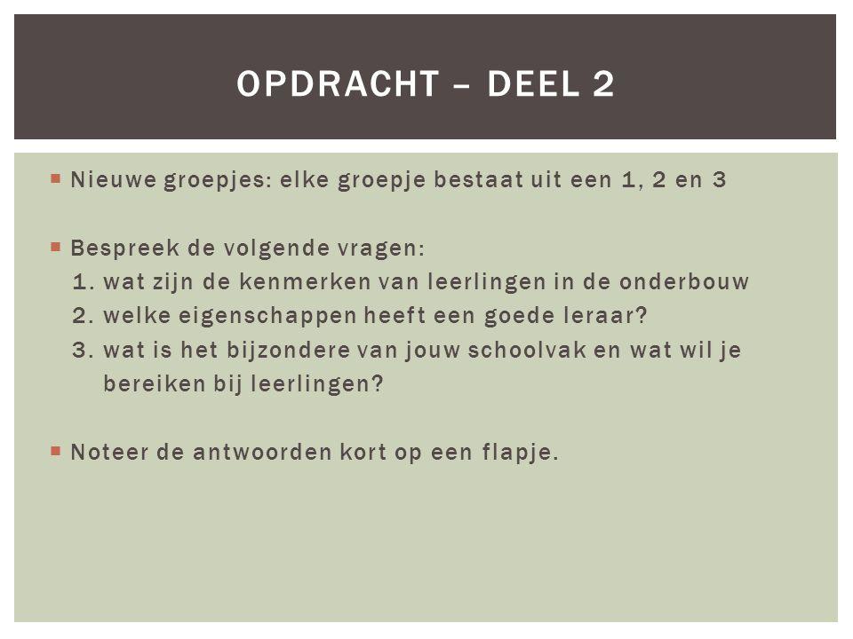 DE DIDACTISCHE DRIEHOEK Leerling Leraar Leerstof