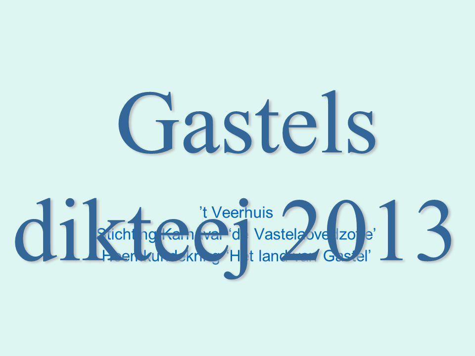 63 Vraog 7: WAD IS 'T GASTELS WOORD VOR: 1.Motregenen Smosse 2.