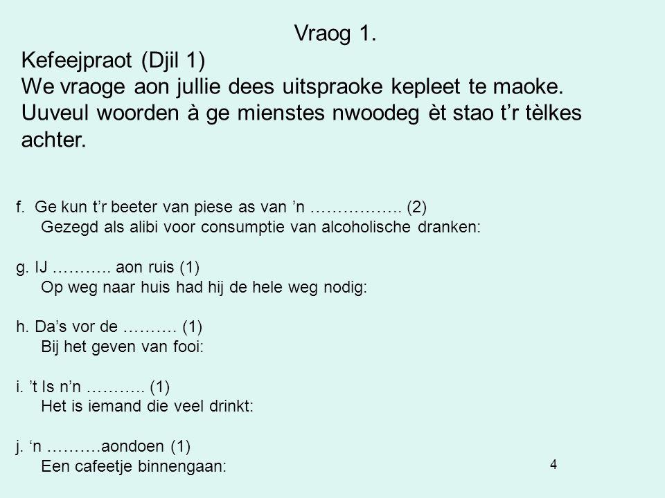 45 Vraog 4. Bjééldvraog: I Hoek Achterdijk/Kerkstraat