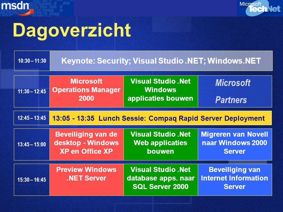 Demonstratie Bouwen van XML Web services Robert Fransen.Net Product Manager