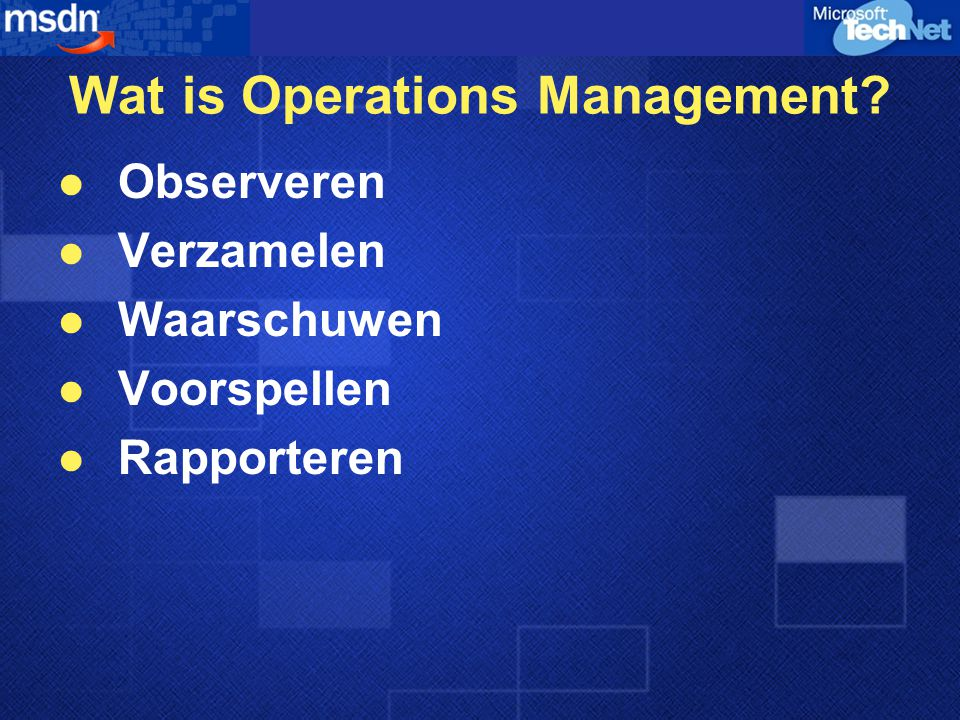 Windows Management Instrumentation Opvragen en Wijzigen van Informatie  Computers  Programma's  Netwerken  Componenten Web Based Enterprise Management
