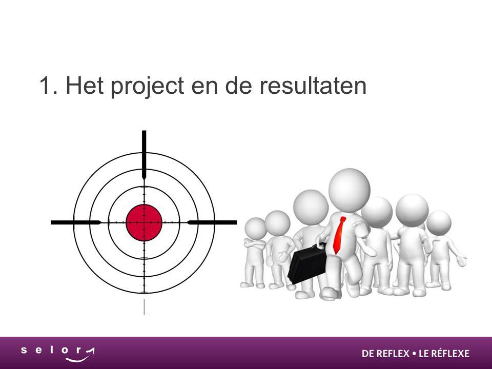 1. Het project en de resultaten