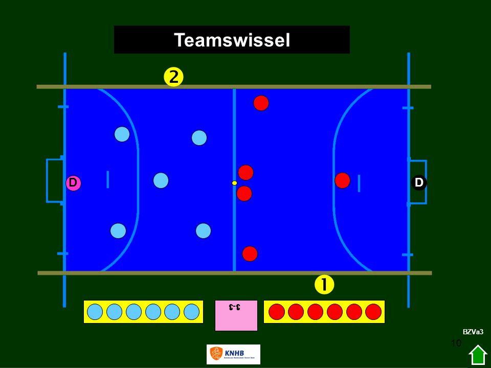 10 3-1   D D Teamswissel BZVa3 1-3