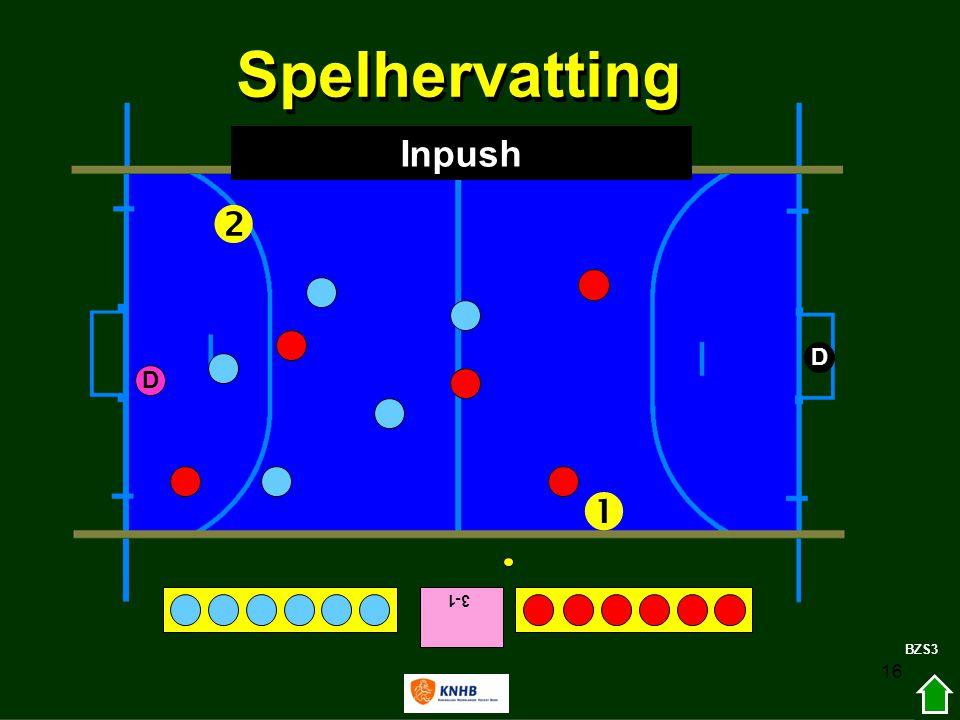 16 3-1   D D BZS3 Spelhervatting Inpush
