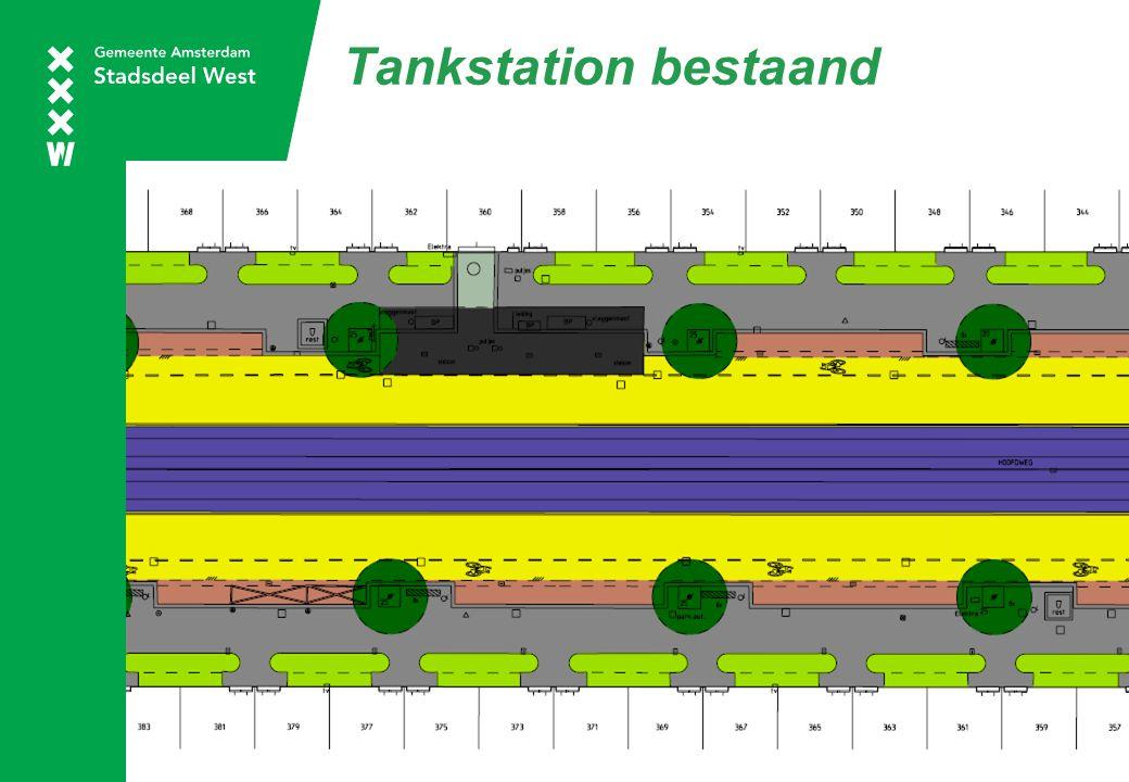 Tankstation bestaand
