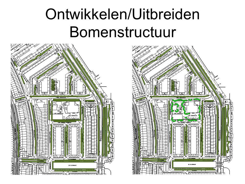 Ontwikkelen/Uitbreiden Bomenstructuur