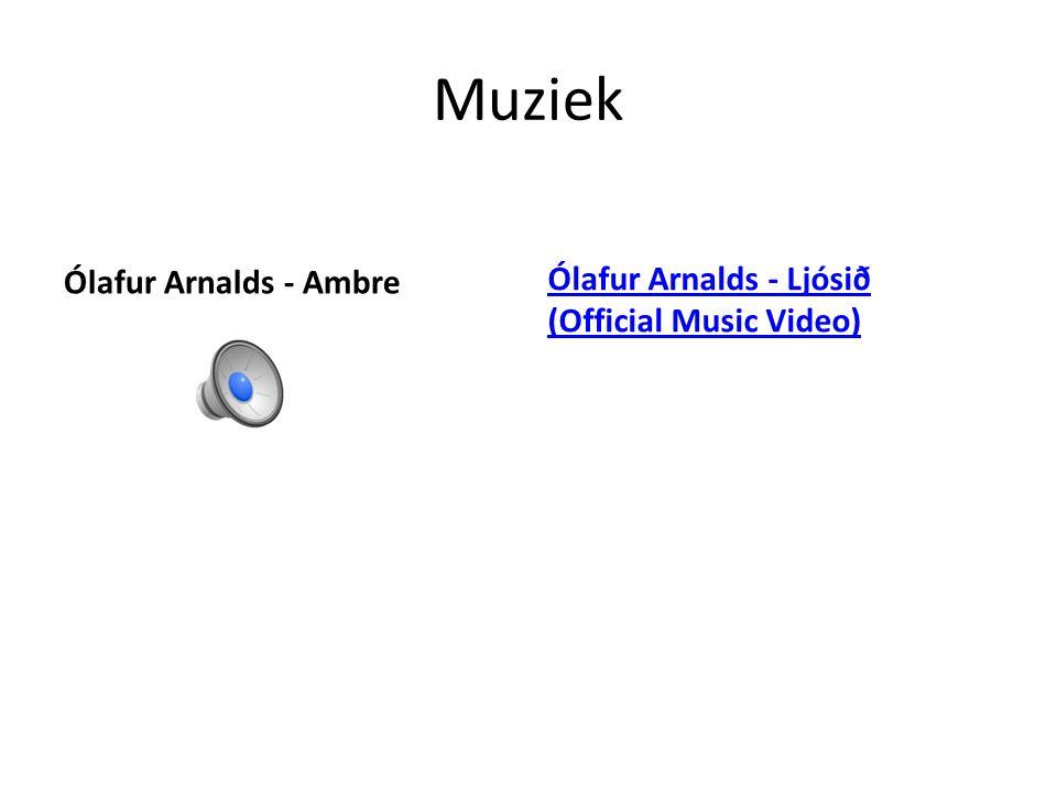Muziek Ólafur Arnalds - Ambre Ólafur Arnalds - Ljósið (Official Music Video)