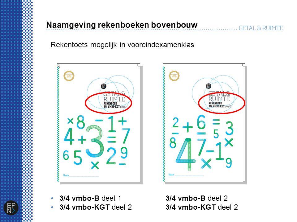Arrangement Voor de leerling, per leerjaar en niveau: Rekenboek Leerlingenkit rekenen – volgende ronde Combinatiepakket boek & kit Voor de docent: Docentenkit rekenen – volgende ronde