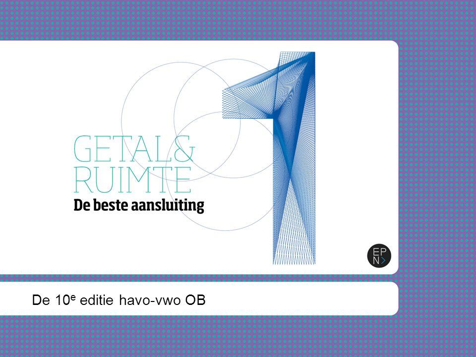 Inhoud presentatie Waarom switchen in 2012.Waarom de nieuwe 10e editie van Getal & Ruimte.