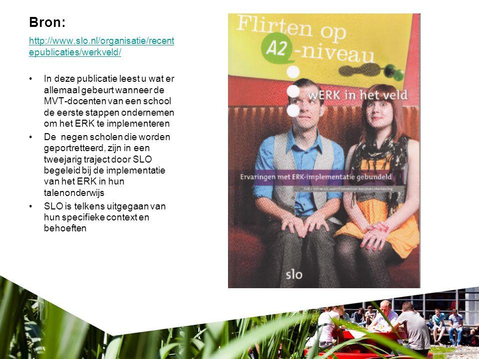 Bron: http://www.slo.nl/organisatie/recent epublicaties/werkveld/ In deze publicatie leest u wat er allemaal gebeurt wanneer de MVT-docenten van een s