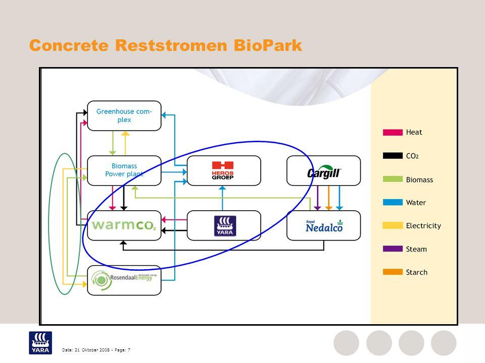 Date: 21 Oktober 2008 - Page: 7 Concrete Reststromen BioPark