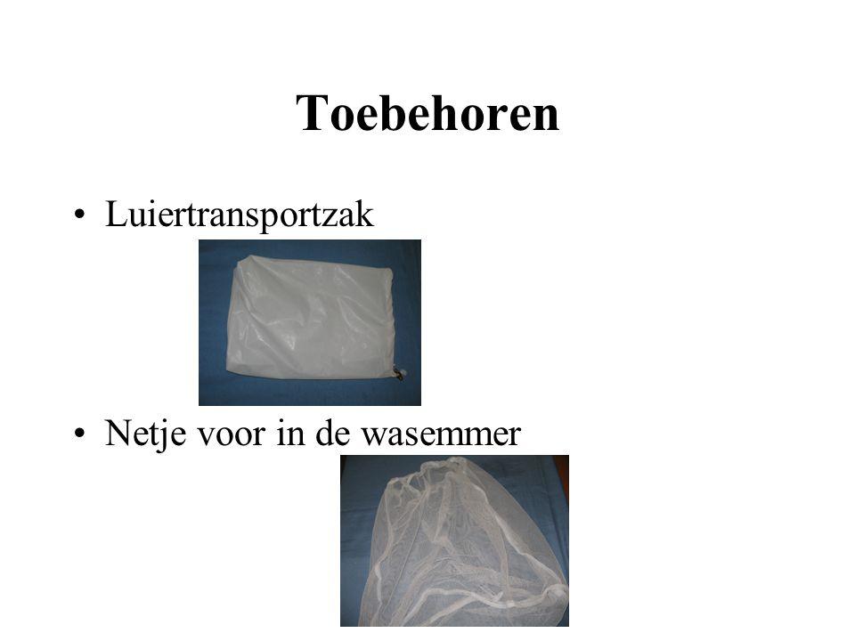Toebehoren Luiertransportzak Netje voor in de wasemmer