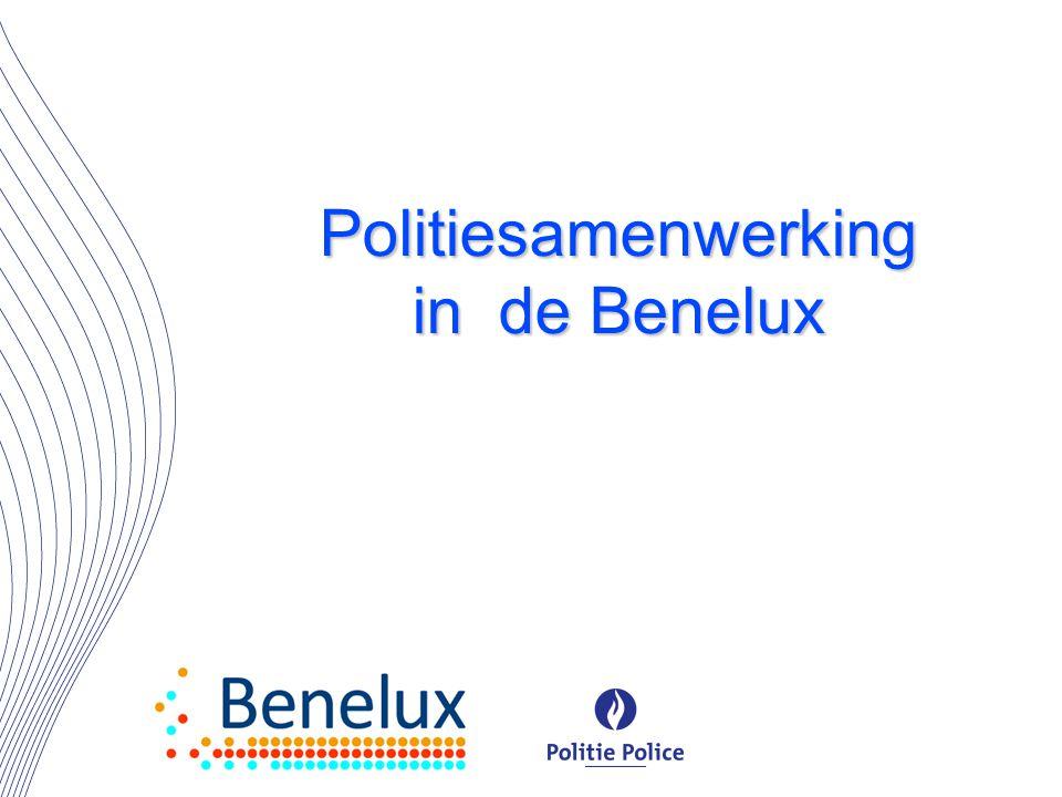 Politiesamenwerking in de Benelux