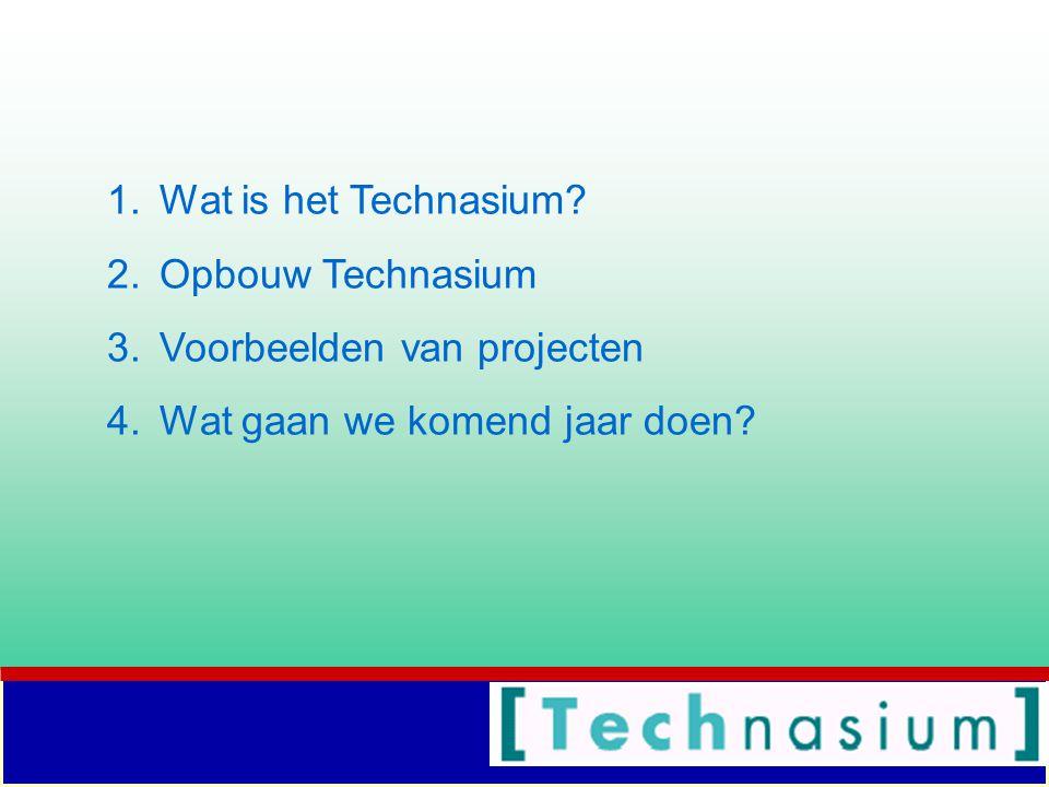 1.Wat is het Technasium.