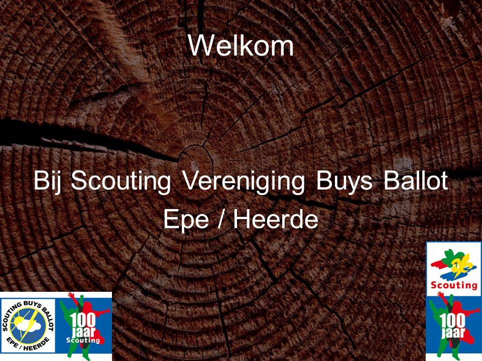 Welkom Bij Scouting Vereniging Buys Ballot Epe / Heerde
