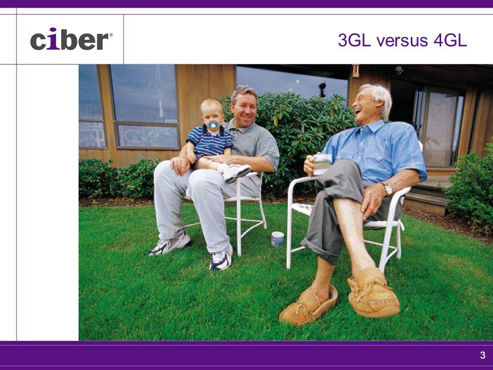 3 3GL versus 4GL
