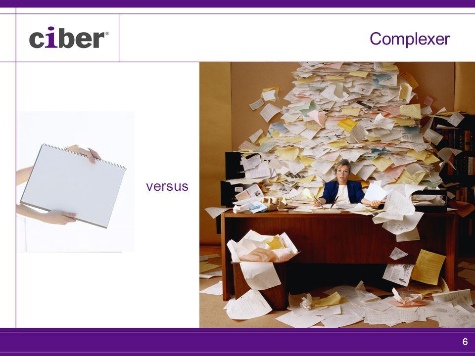 7 Complexer versus