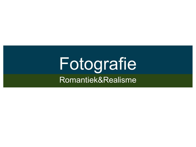 Ontstaan van Fotografie Gedreven door het proberen vast te leggen van fragmenten (ruimte of tijd).