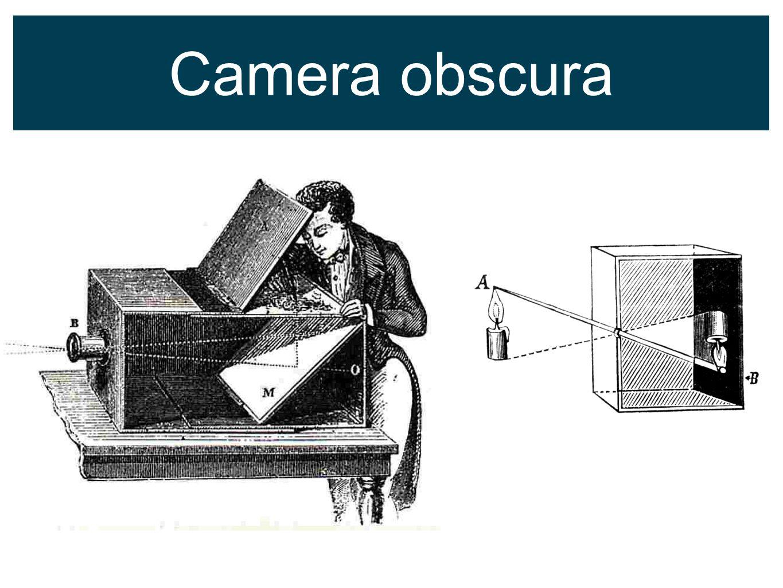 Ontstaan van Fotografie Thomas Wedgwood (1771 - 1805) Nicéphore Niepce (1765 - 1833) tussen 1816-1827 eerste afdruk Fox Talbot (1800 - 1877) EngelandFrankrijk (Louis-Jaques-Mandré) Daguerre (1787 - 1851) CalotypieDaguerreotypie