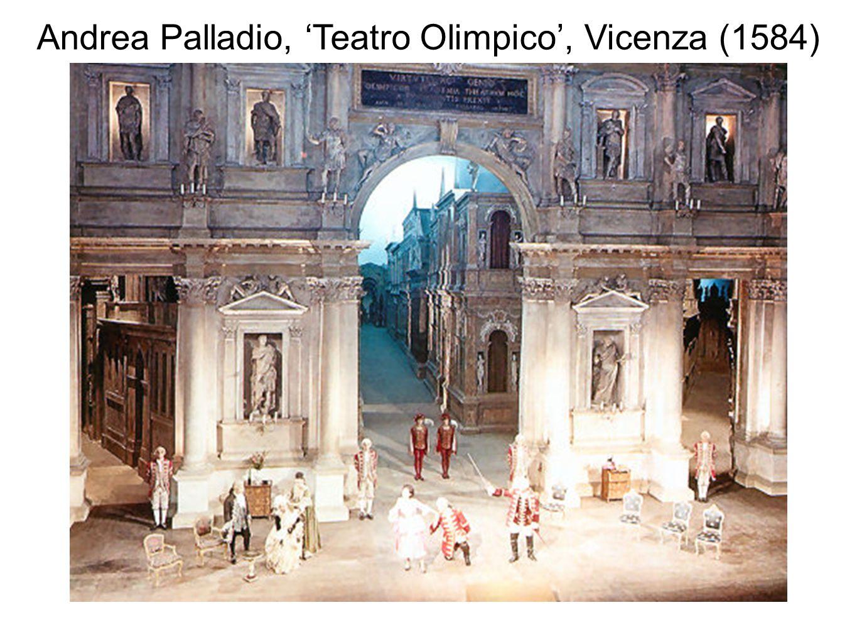Andrea Palladio, 'Teatro Olimpico', Vicenza (1584)
