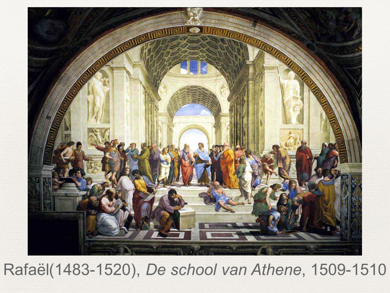 Rafaël(1483-1520), De school van Athene, 1509-1510