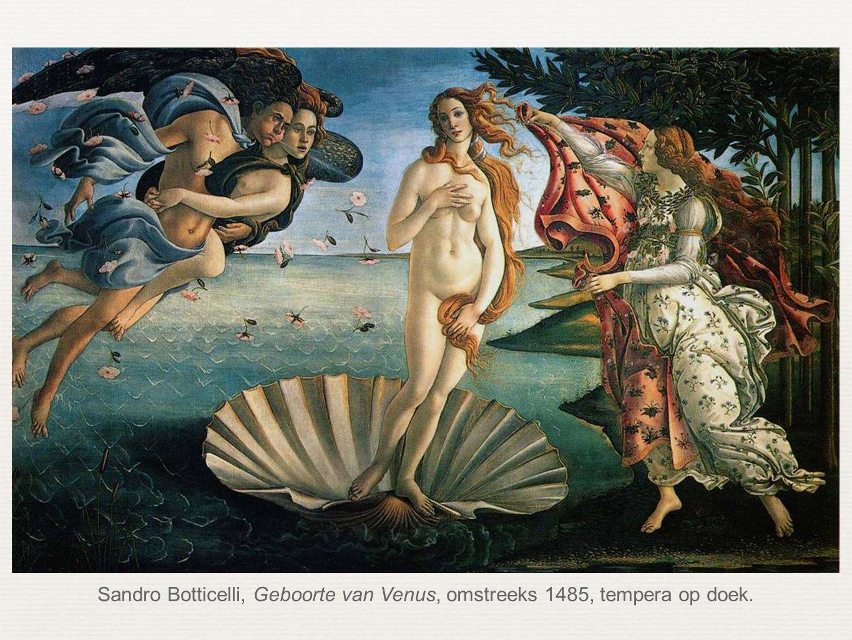 Sandro Botticelli, Geboorte van Venus, omstreeks 1485, tempera op doek.