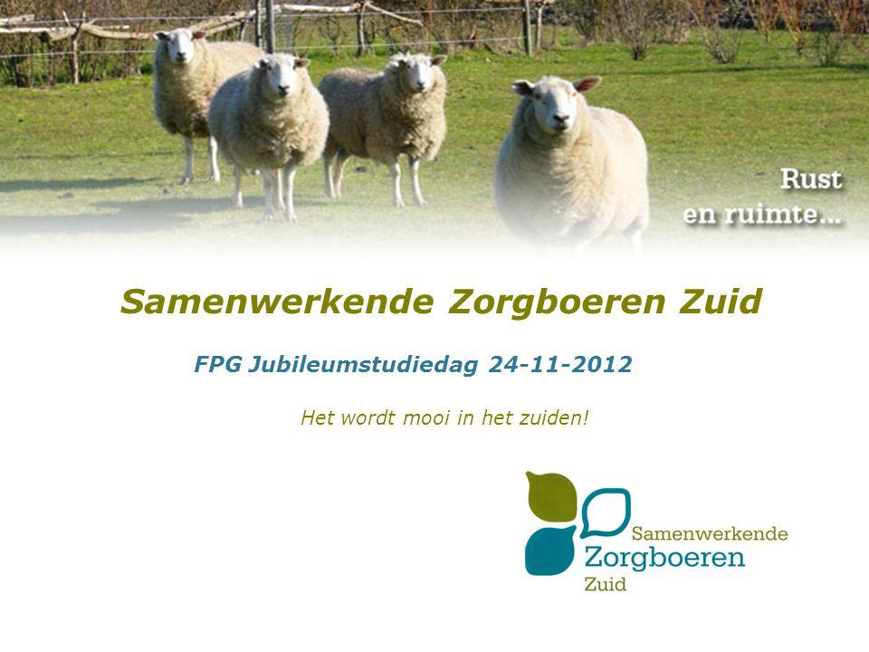 Even voorstellen Maurice van Valkenburg Senior projectleider ZLTO Directeur-bestuurder SZZ Pieter Kusters Directeur Decura Coordinator zorgloket SZZ