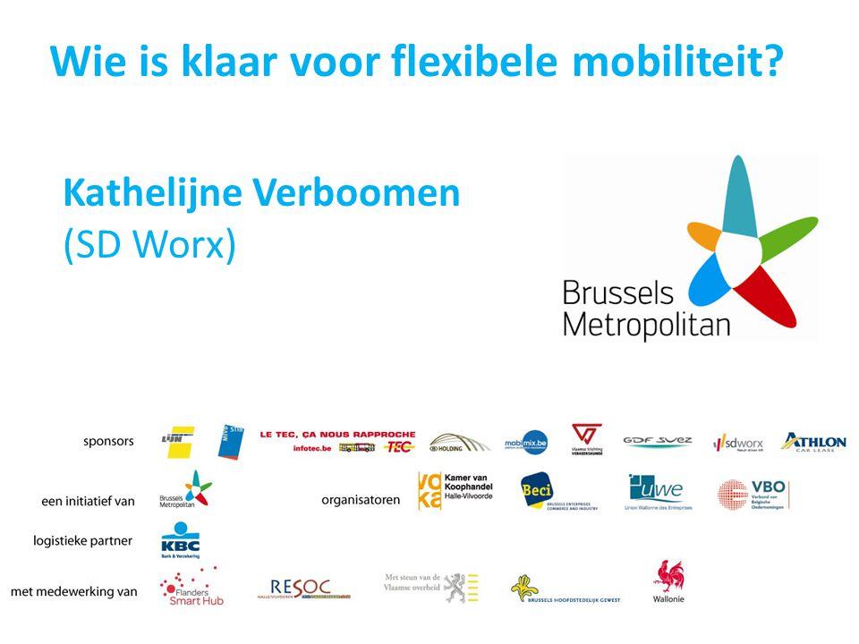 Wie is klaar voor flexibele mobiliteit? Kathelijne Verboomen (SD Worx)