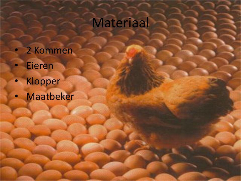 Materiaal 2 Kommen Eieren Klopper Maatbeker