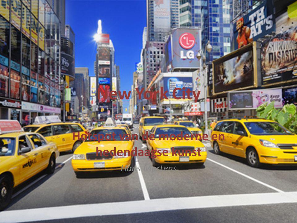 New York City Hotspot van de moderne en hedendaagse kunst Hans Martens