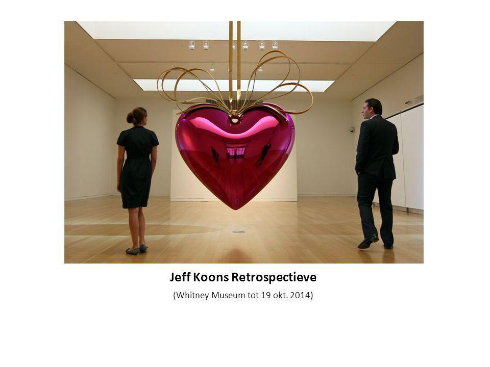 Jeff Koons Retrospectieve (Whitney Museum tot 19 okt. 2014)