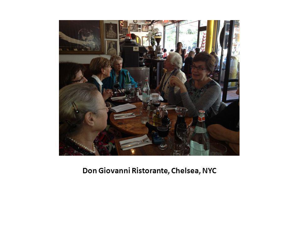 Don Giovanni Ristorante, Chelsea, NYC