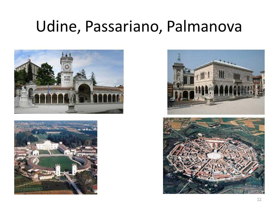 Udine, Passariano, Palmanova 12