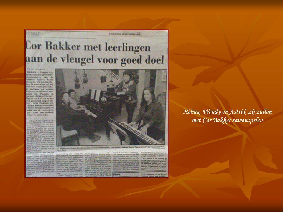 Symphorosa's Melodies Leerlingenconcert 1998 Cor Bakker