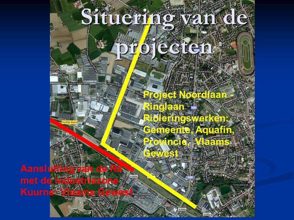 Rioleringswerken Afkoppeling industriezone Noordlaan