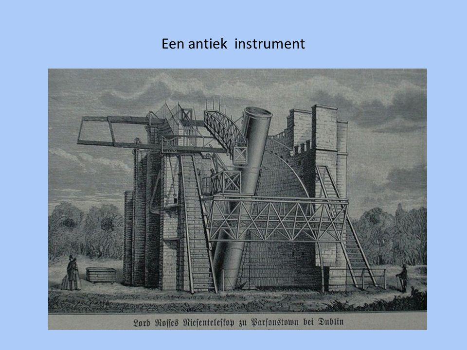 Een moderne radiotelescoop (Drenthe)