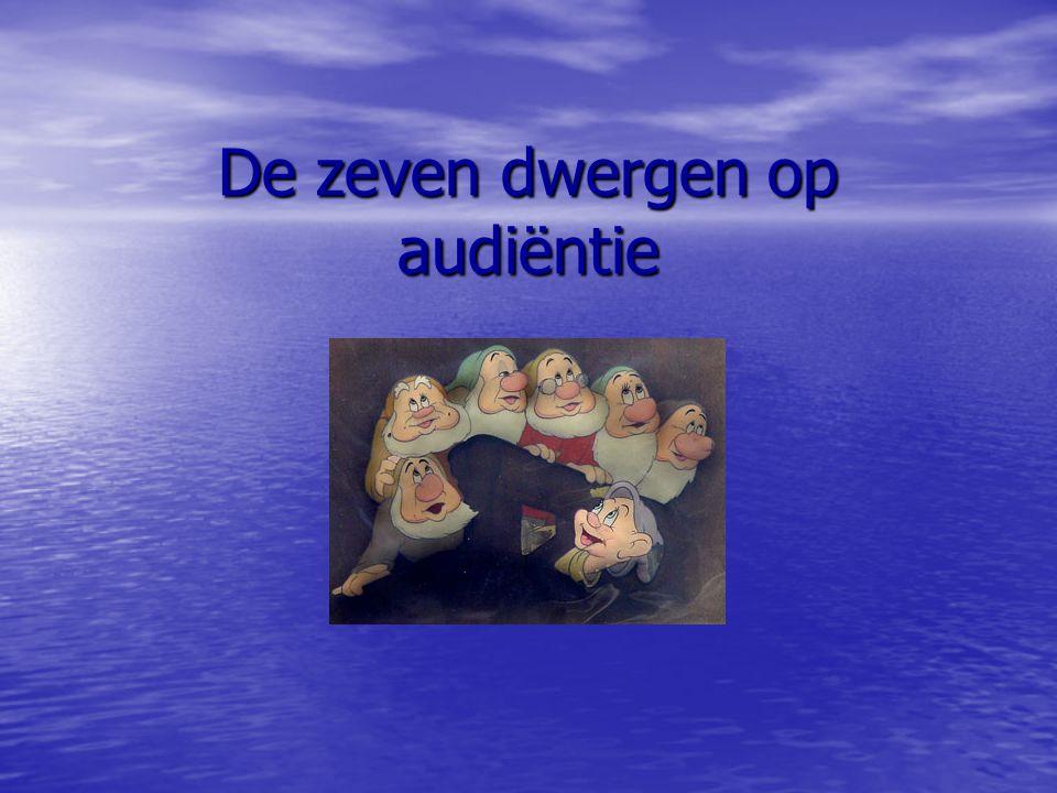 De zeven dwergen op audiëntie