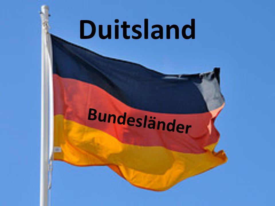 Duitsland Bundesländer